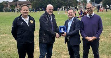 20 year service award – Paul Spooner